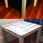 Ikea End Table Re-Vamp