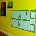 Quickie Project – DIY Wall Calendar
