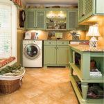 Master Closet and Laundry Design
