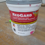 Prepping the Shower for Tile – Part 2: Red Guard