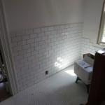 Tiling the Bathroom Walls