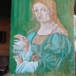 Painting Class Update – first layers of color
