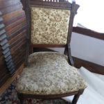 Re-Upholstered Eastlake Chairs