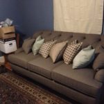 The Couch That Wouldn't Fit Up the Stairs: a Story in Pictures
