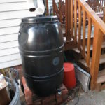 Rain Barrel Setup