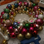 Vintage Ornament Wreath Tutorial