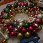 Vintage Ornament Wreath Tutorial