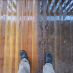 Pressure Wash the Deck
