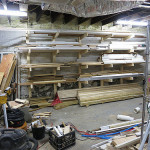 Basement Wood Storage
