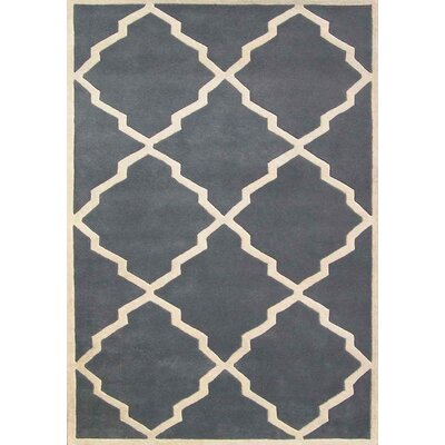 Casablanca World Classic Geometric Bluefish Rug Rug Size: 5' x 8'