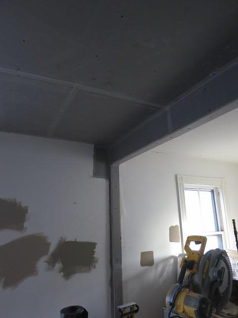 blue board den beam